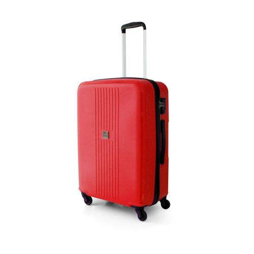 MEDIUM LUGGAGE  CRIMSON RED