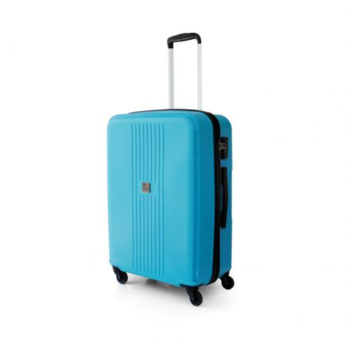 MEDIUM LUGGAGE  ACQUA BLUE