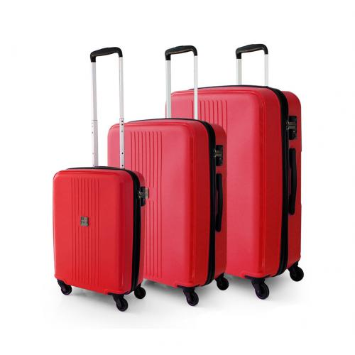 LUGGAGE SETS  CRIMSON RED