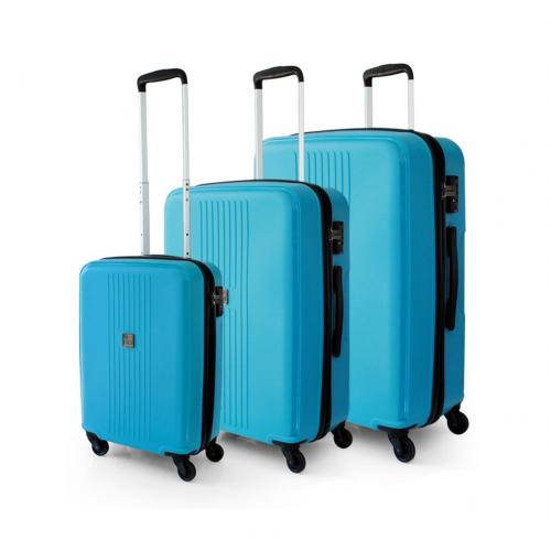 LUGGAGE SETS  ACQUA BLUE