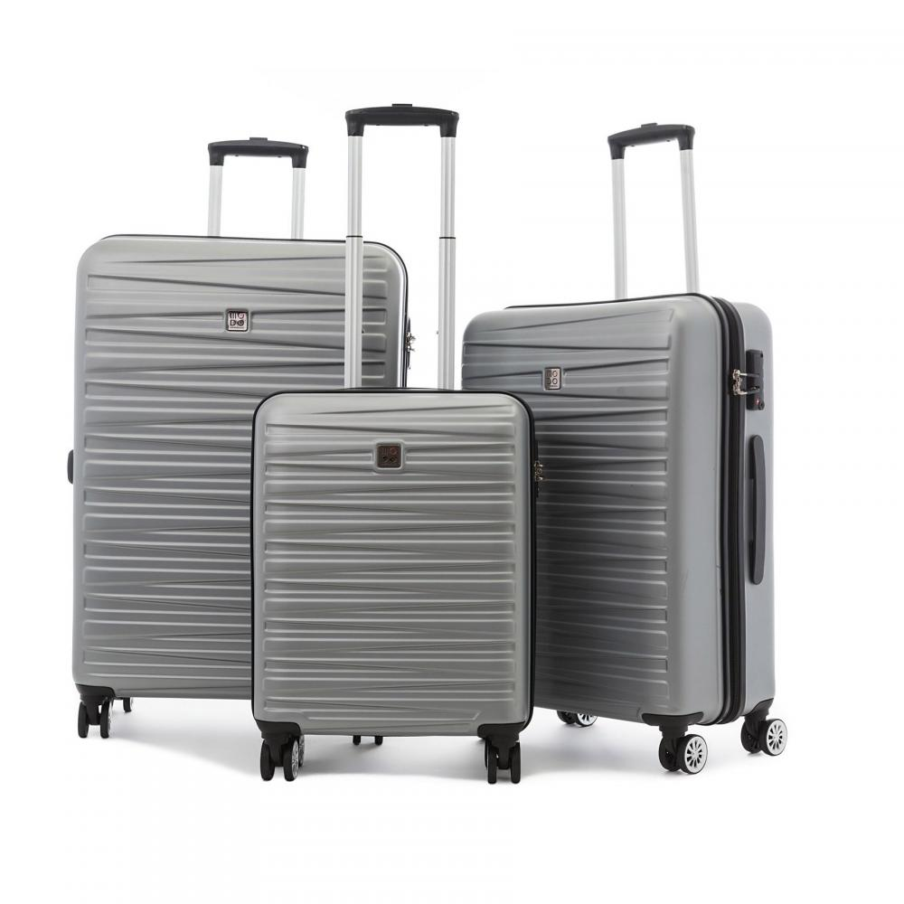 Koffer Sets  SILBER