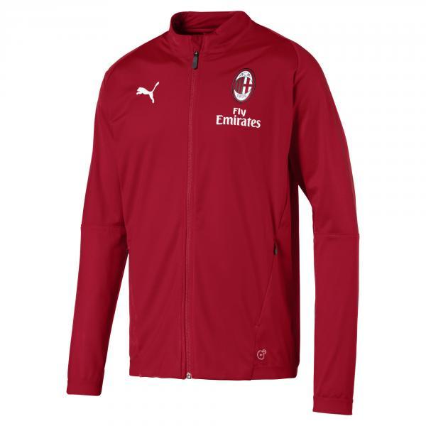 Puma Felpa Panchina Milan Junior  18/19 Rosso