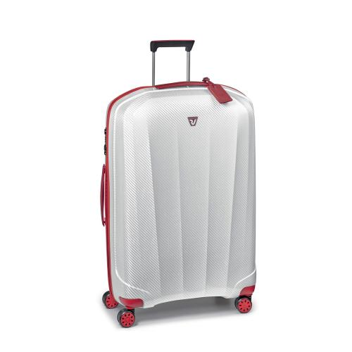 LARGE LUGGAGE  RED/WHITE