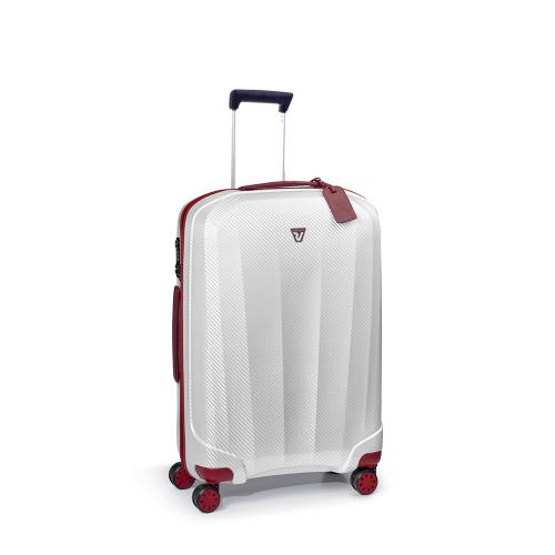 MEDIUM LUGGAGE  RED/WHITE