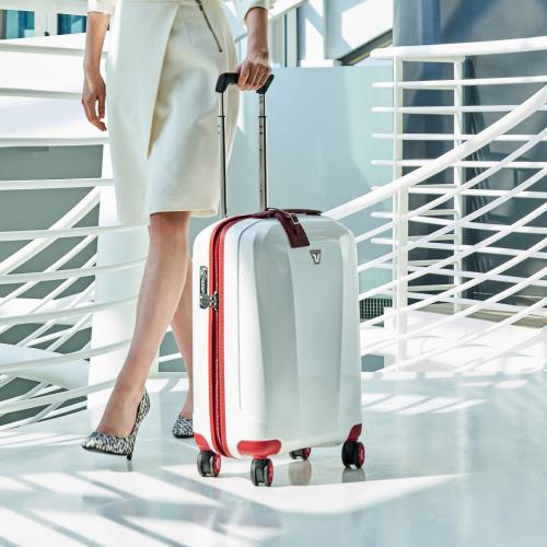 CABIN LUGGAGE  RED/WHITE