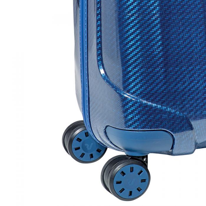 Trolley Cabina  BLU/BLU ACCIAIO Roncato