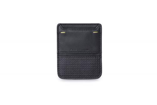 Business Cards Holder Folio by Pininfarina Black
