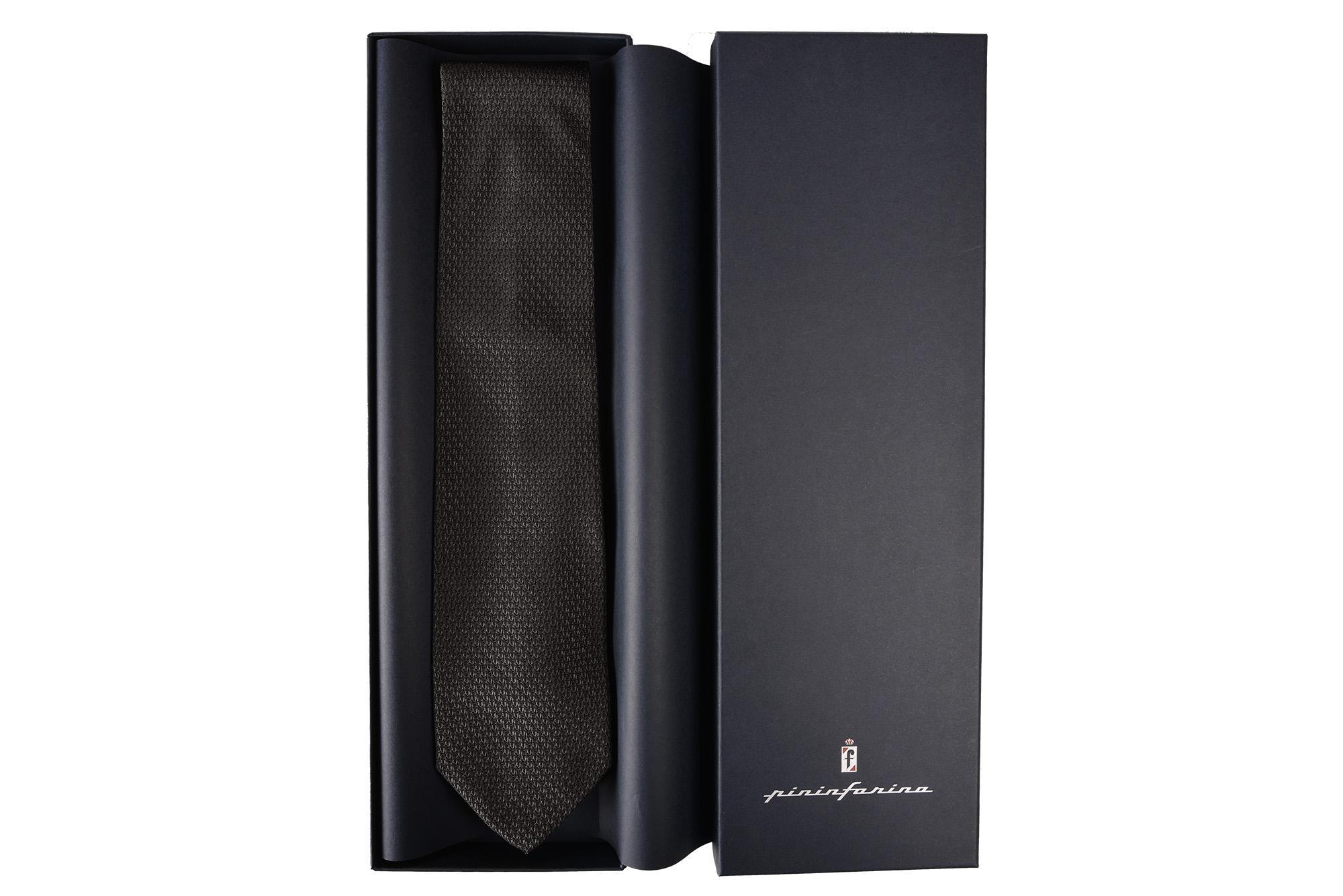 Cravatta Nero Pininfarina Store