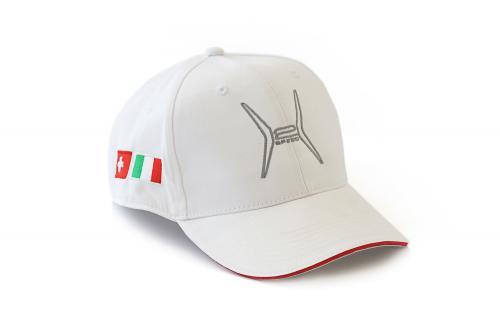 Cappellino H2 Speed Bianco
