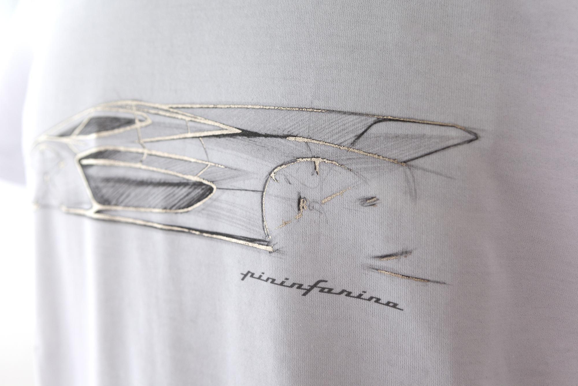 T-shirt Bianco Pininfarina Store