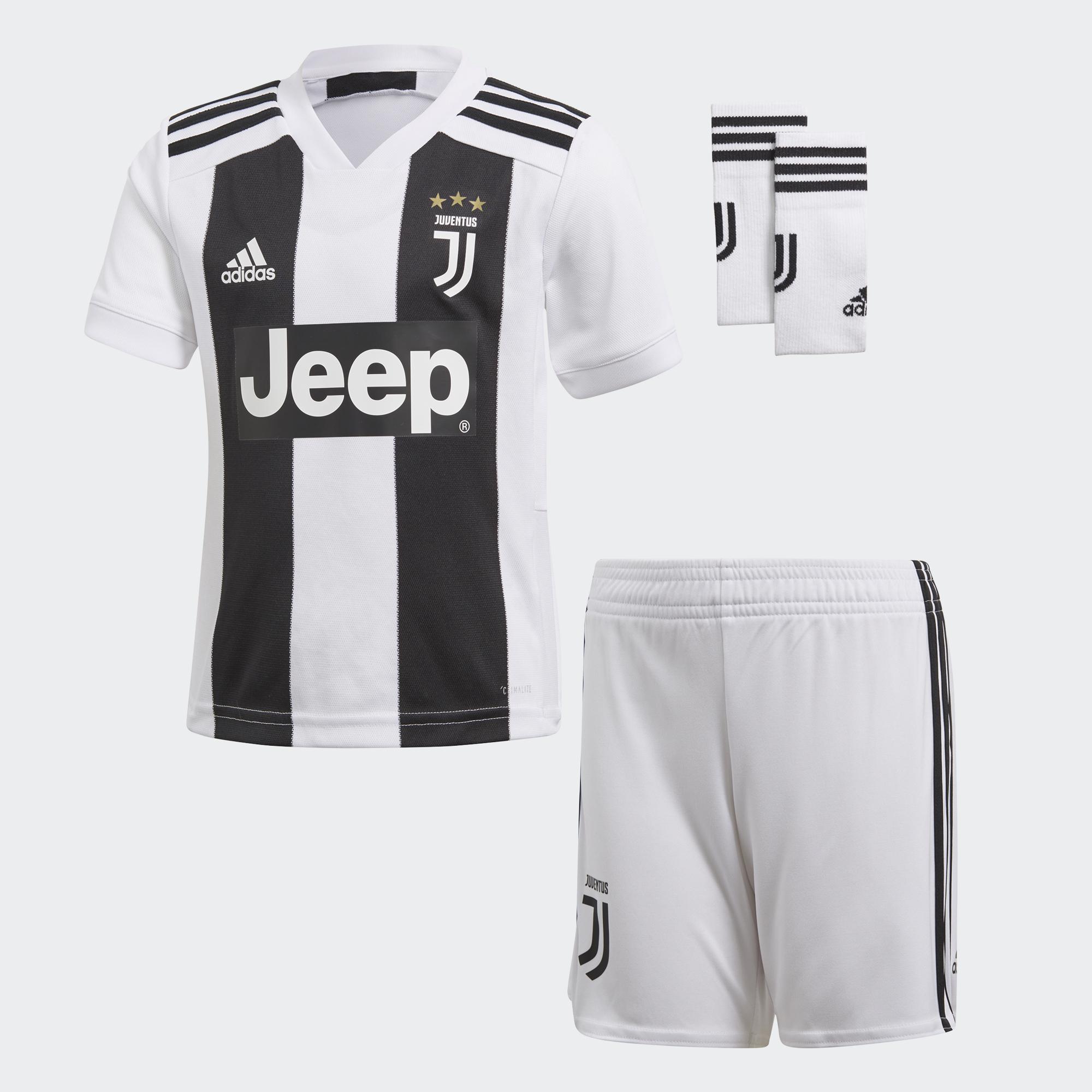 Adidas Kit Home Juventus Baby  18/19