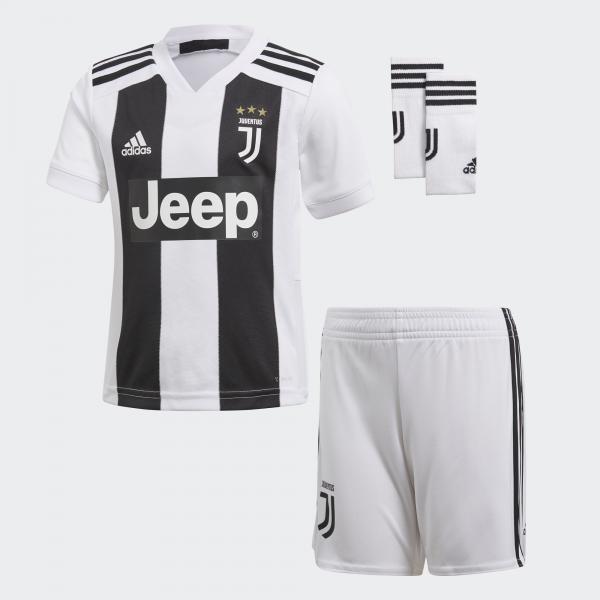 Adidas Kit Home Juventus Baby  18/19 BIANCO/NERO