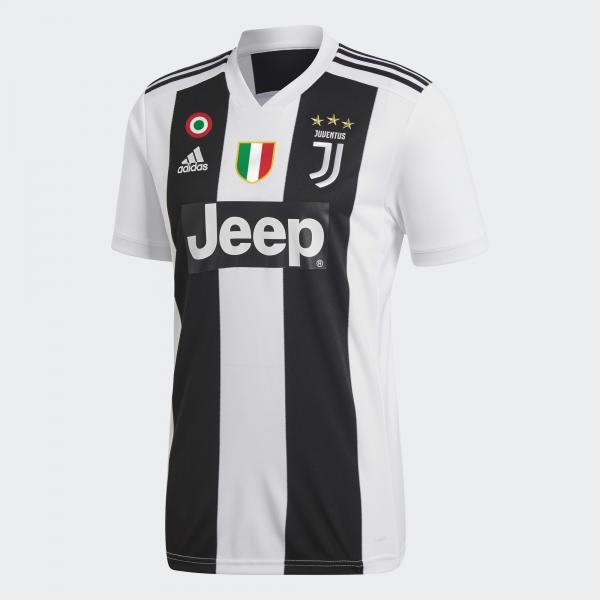 Adidas Maglia Gara Home Juventus Junior  18/19 Bianco/Nero