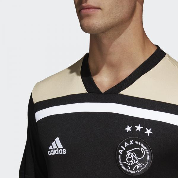 Adidas Maglia Gara Away Ajax Amsterdam   18/19 NERO Tifoshop