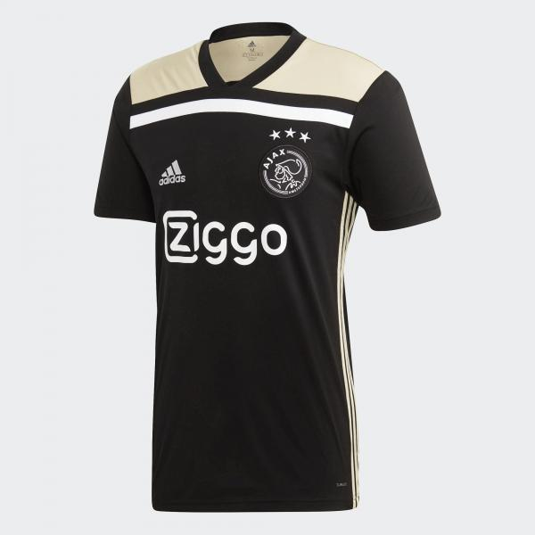 Adidas Maglia Gara Away Ajax Amsterdam   18/19 NERO