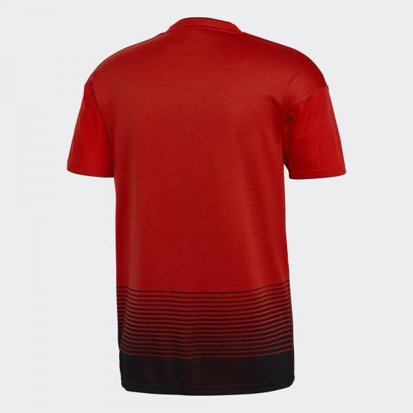 Adidas Maglia Gara Home Manchester United   18/19 Rosso Bianco Tifoshop