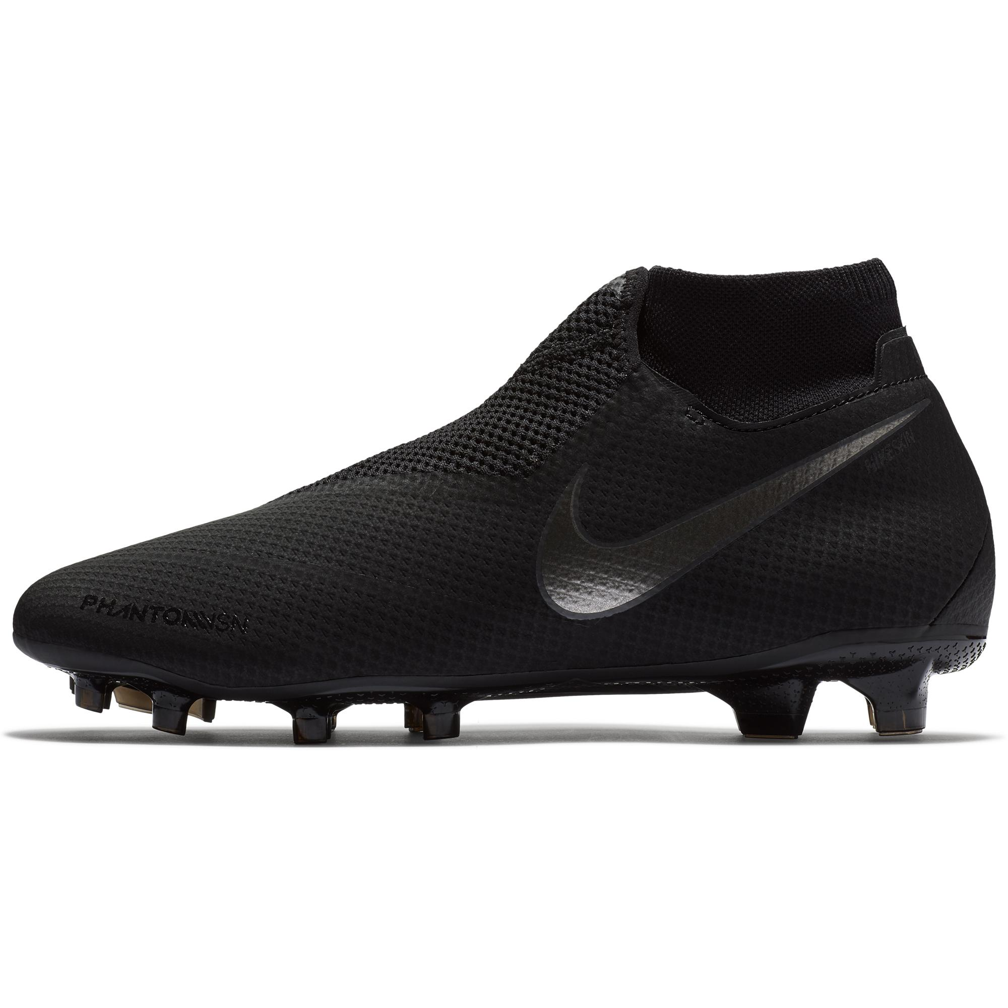 ceb9cedaeb9e Nike Football Shoes Phantom Vsn Pro Df Fg Black - Tifoshop.com