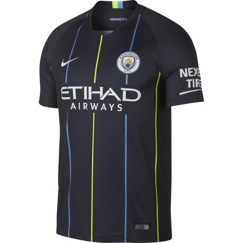 Men's Nike Breathe Manchester City FC Stadium Jersey