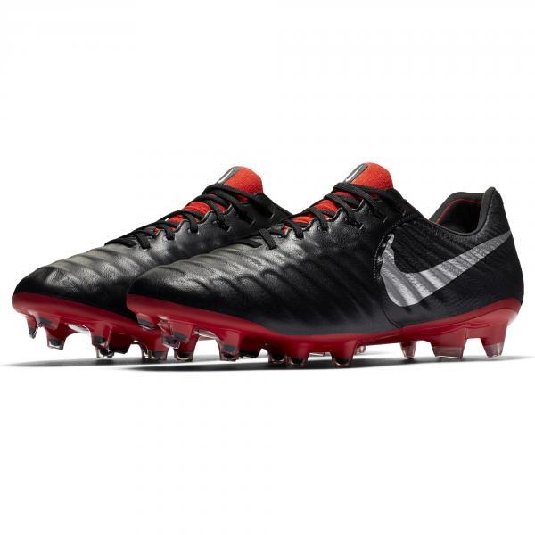 Nike Scarpe Calcio Legend 7 Elite Fg Nero Argento Tifoshop