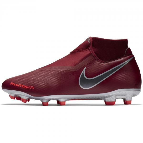 Nike Scarpe Calcio Phantom Vsn Academy Df Fg/mg Rosso