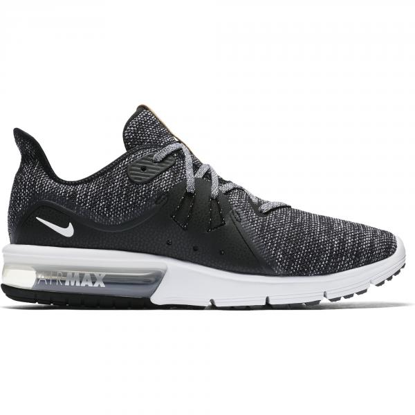 finest selection f16bc e2487 Nike Chaussures Air Max Sequent 3 BLACK WHITE-DARK GREY ...