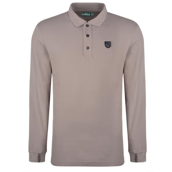 Polo Uomo ANTWAN 63187 MARRONE MUD Chervò