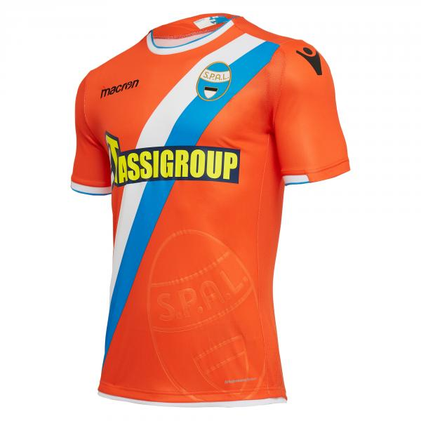 Macron Maillot De Match Away Spal   18/19 Orange