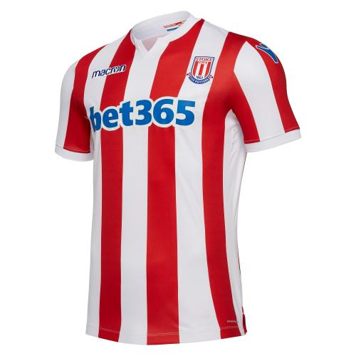 Macron Shirt Home Stoke City   18/19