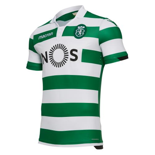 Macron Shirt Home Sporting Lisbona   18/19