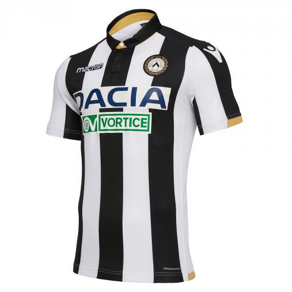 Macron Maglia Gara Home Udinese   18/19 BIANCO/NERO
