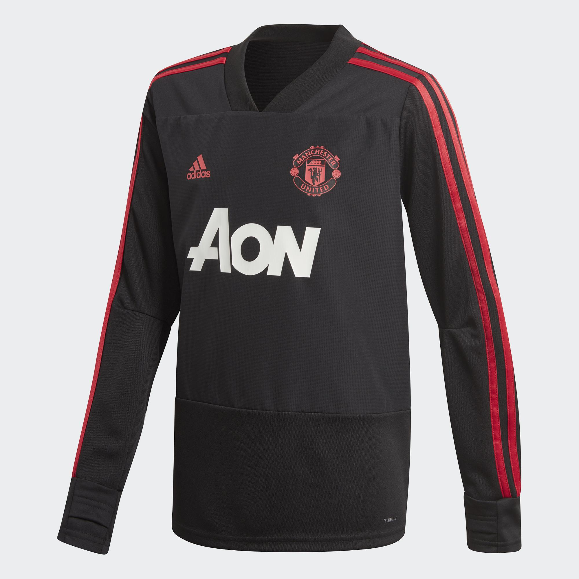 e99c5ac42 Adidas Sweatshirt Training Manchester United Junior Black   Blaze ...