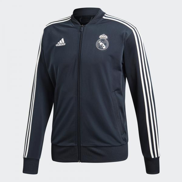 Adidas Felpa Allenamento Real Madrid Grigio