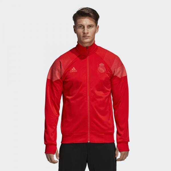 Adidas Felpa Allenamento Real Madrid Rosso Tifoshop