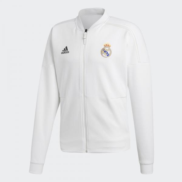 Adidas Felpa Panchina Real Madrid Bianco