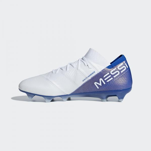 Adidas Scarpe Calcio Nemeziz Messi 18.1 Fg Bianco Tifoshop