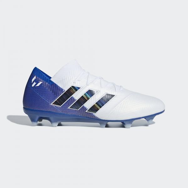 2ae808383 Adidas Scarpe Calcio Nemeziz Messi 18.1 Fg Bianco - Tifoshop.com