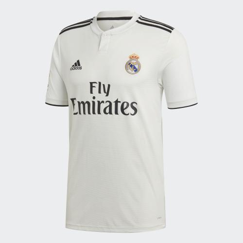 Adidas Maillot de Match Home Real Madrid   18/19
