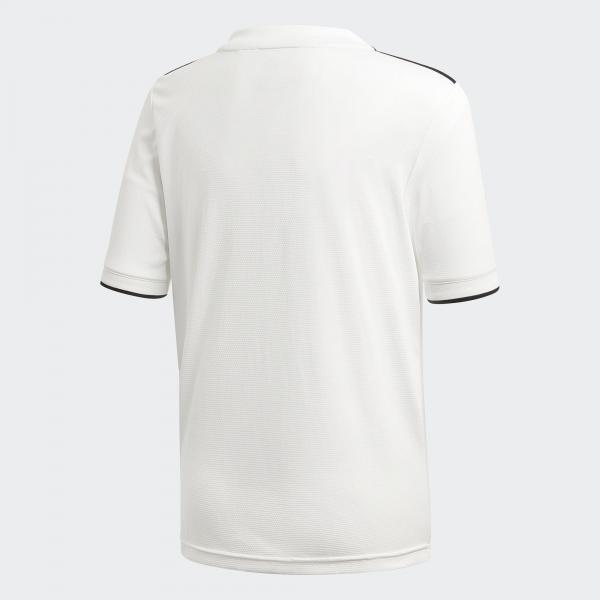 Adidas Maglia Gara Home Real Madrid Junior  18/19 Bianco Tifoshop