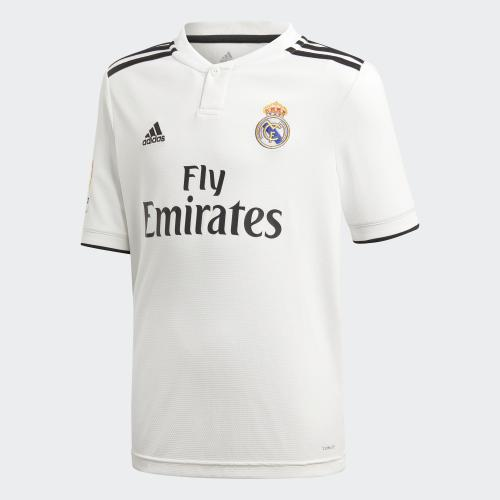 Adidas Maglia Gara Home Real Madrid Junior  18/19