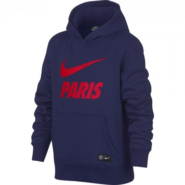 Nike Felpa  Paris Saint Germain Junior Blu