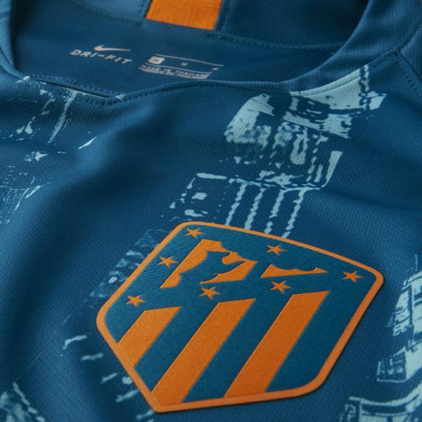 Nike Maglia Gara Terza Atletico Madrid   18/19 Verde Tifoshop