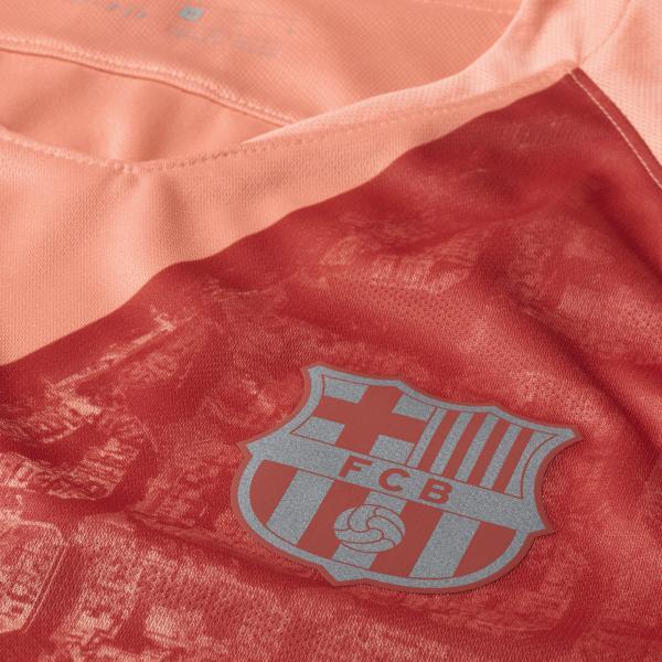 Nike Maglia Gara Terza Barcellona   18/19 Rosa Tifoshop