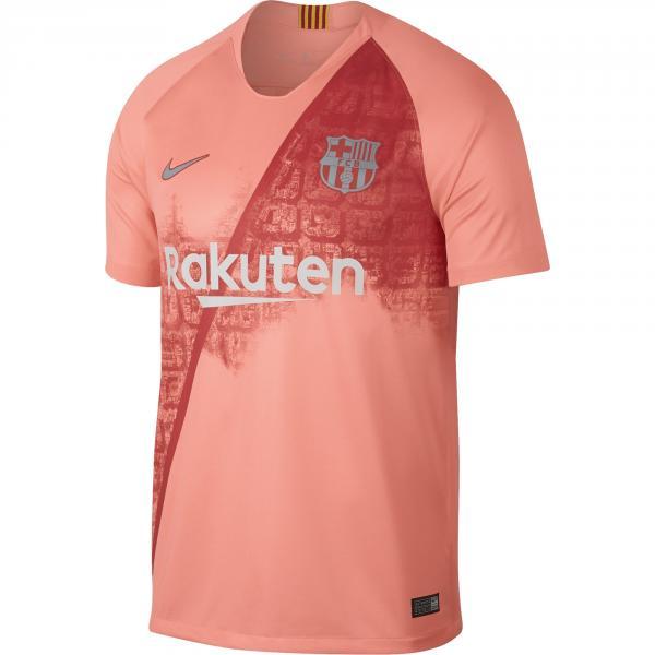 Nike Maglia Gara Terza Barcellona   18/19 Rosa