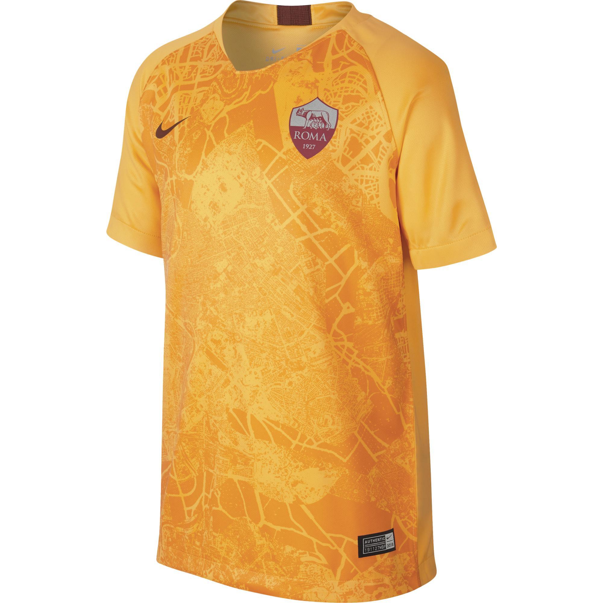 Nike Maglia Gara Terza Roma Junior  18/19