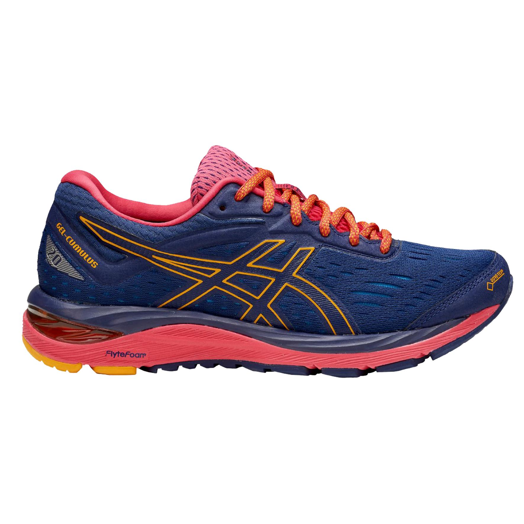 Asics Shoes Gel-cumulus 20 G-tx Woman Indigo Blue amber - Tifoshop.com 8cf25441645
