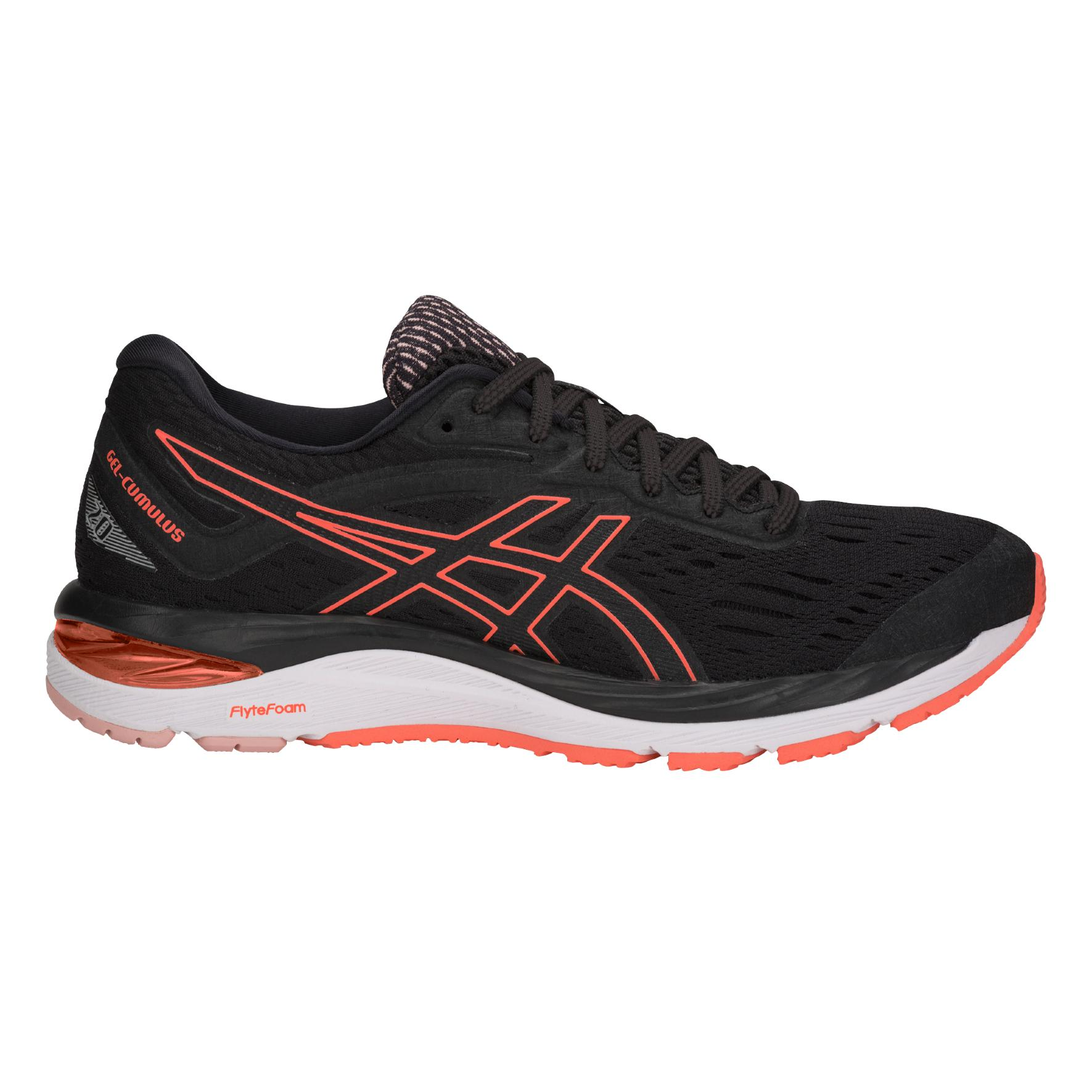 Asics Shoes Gel-cumulus 20 Woman Black flash Coral - Tifoshop.com 216069e16f4