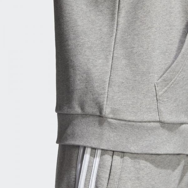 Adidas Originals Felpa Trefoil Grigio Tifoshop