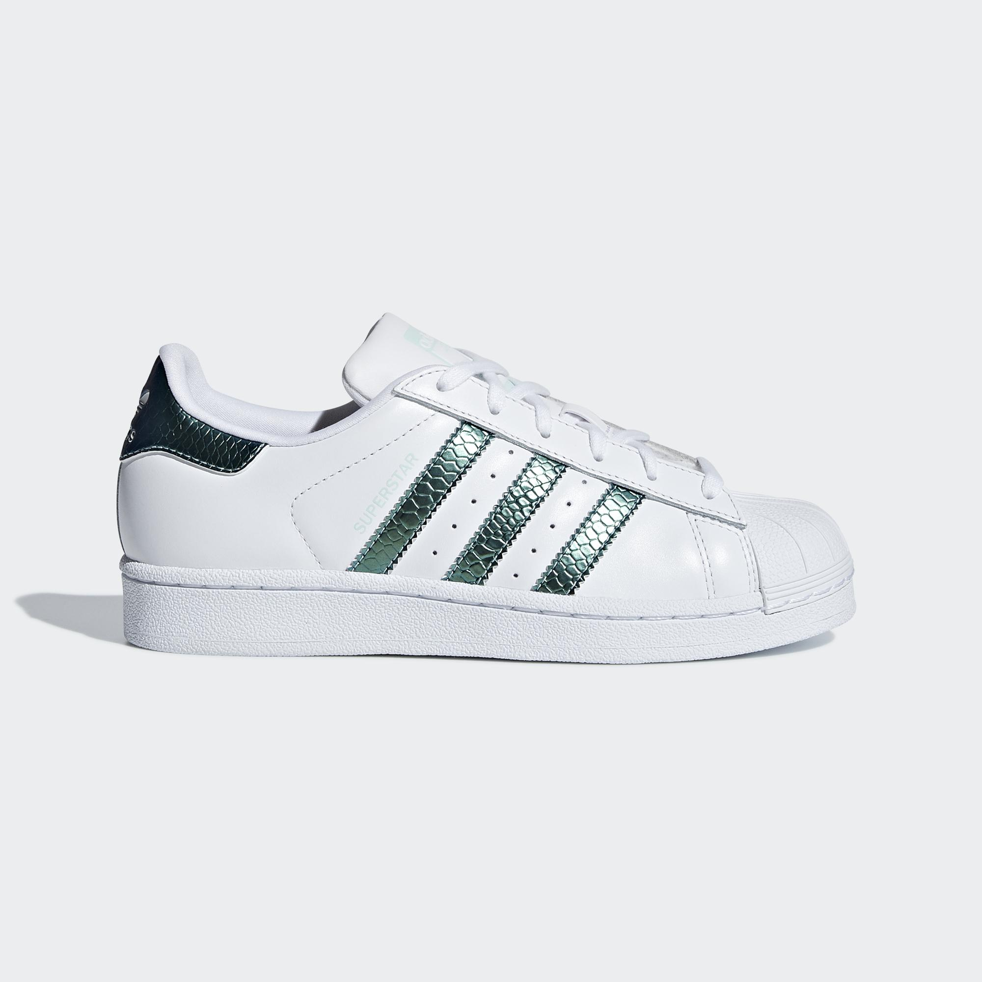 Adidas Originals Shoes Superstar Junior Ftwr White clear Mint ftwr White -  Tifoshop.com f044aa320
