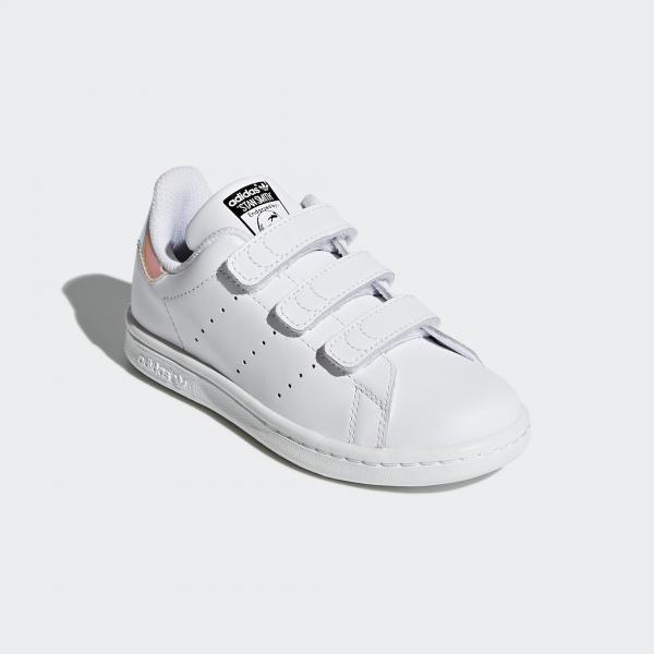Adidas Originals Scarpe Stan Smith  Junior Bianco Tifoshop