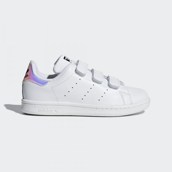 Adidas Originals Scarpe Stan Smith  Junior Bianco